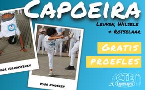 Klaar voor capoeira? Nieuw seizoen 2021-2022