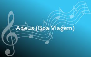 Lyrics - Adeus (Boa Viagem)
