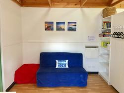 Cabin 2 lounge/sofa bed