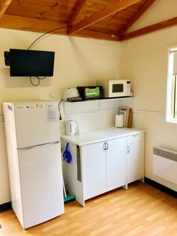 Cabin 1 kitchenette