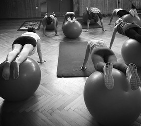 Pezziball-Workout