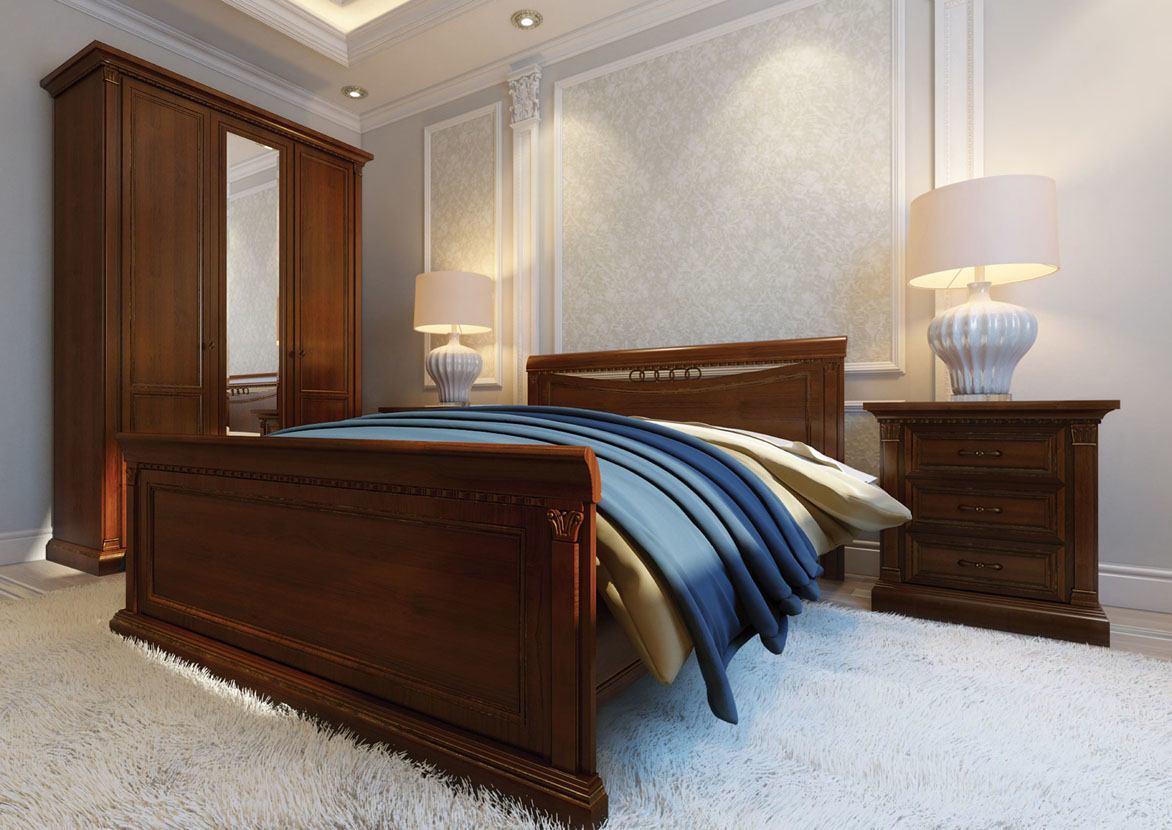 Спальня Венеция вишня