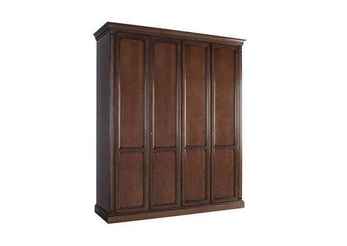 Шкаф 4х створчатый Венеция вишня спальня