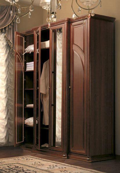 Спальня Сильвия орех