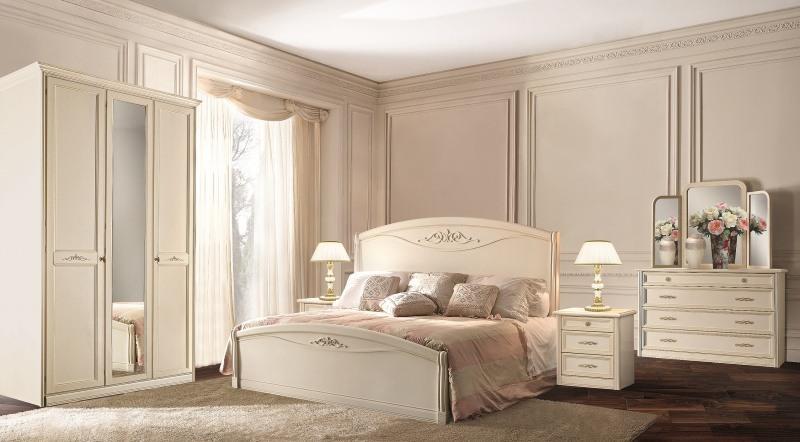 Спальня Сан Ремо белая