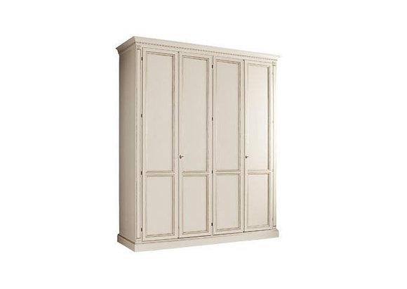 "Шкаф 4х створчатый белый спальня ""Венеция"" bianco"