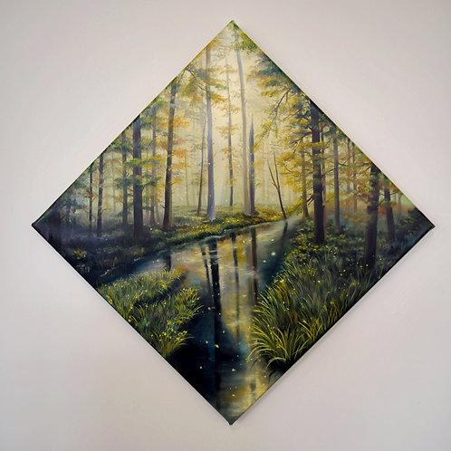 Der Bach im Wald