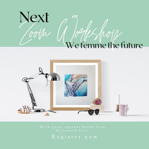 Zoom Workshop January 2021