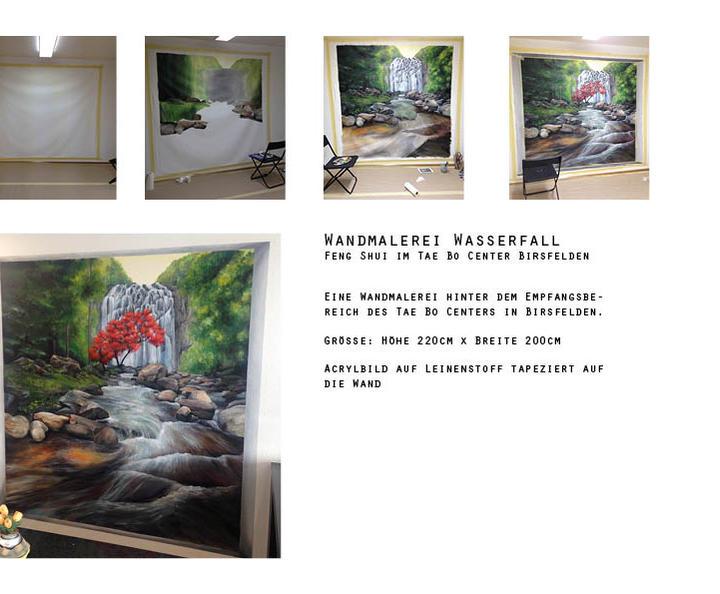 Wandmalerei Workshop