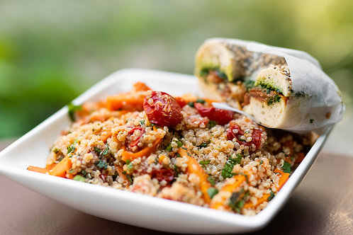Veganer Quinoa Salat