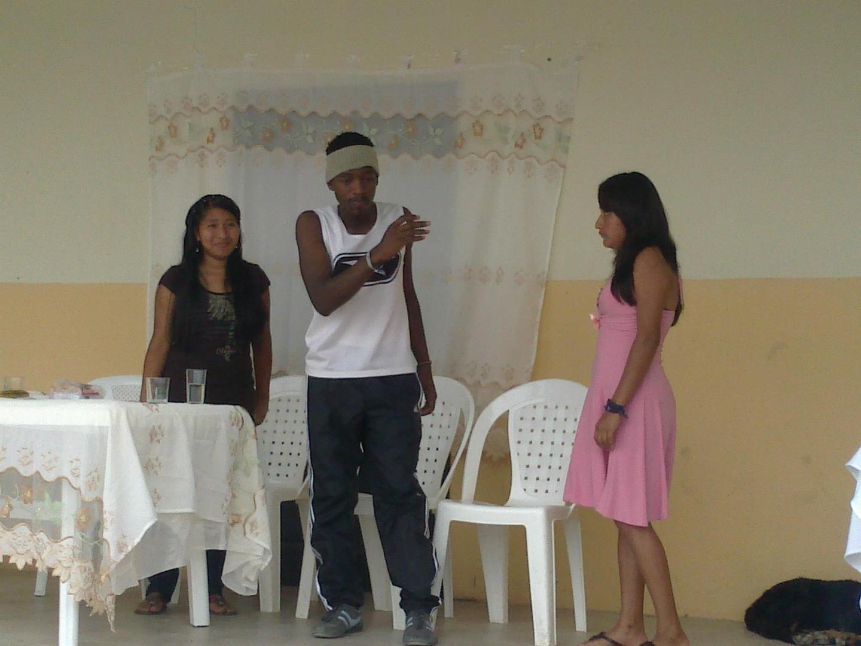 Victor in der Schule (Theaterunterricht)