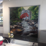 Wandmalerei BEFIT Center Birsfelden
