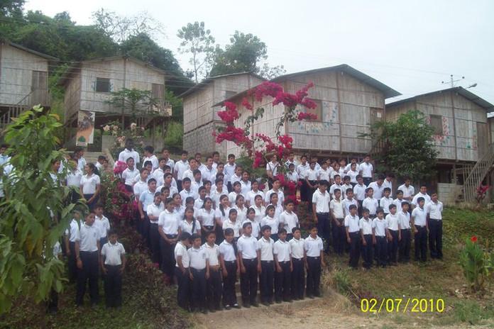 Die Stiftungsschule im Jahr 2010