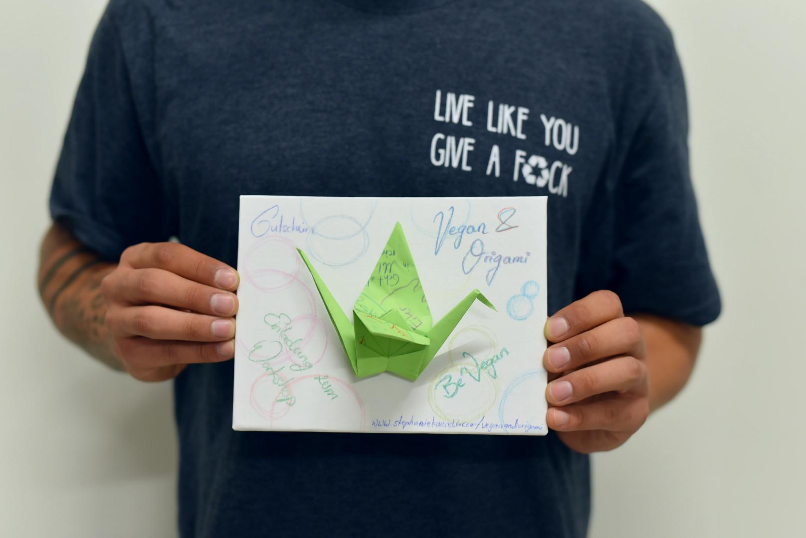 Vegan & Origami Workshop