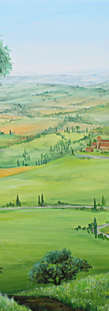 Landscape Paintings Acryl
