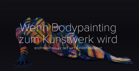 Bodypainting als Kunstwerk