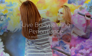 Live Bodypainting Performance