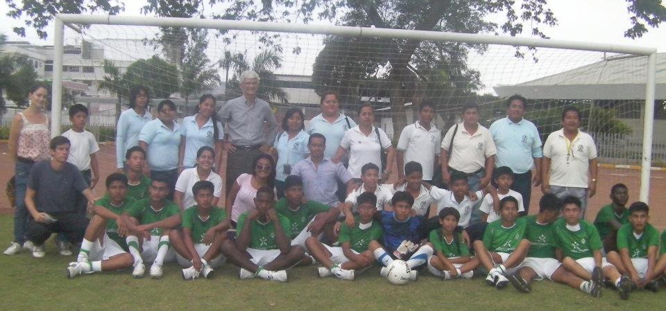 Die neue Fussballmannschaft von der Stiftungschule