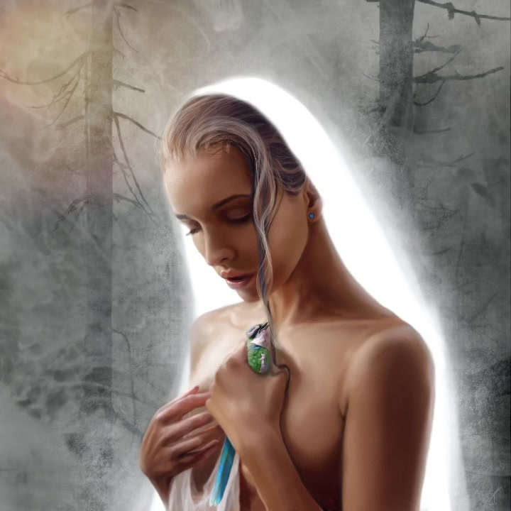 Digital Painting animated