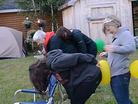 Jucka sönder ballongen