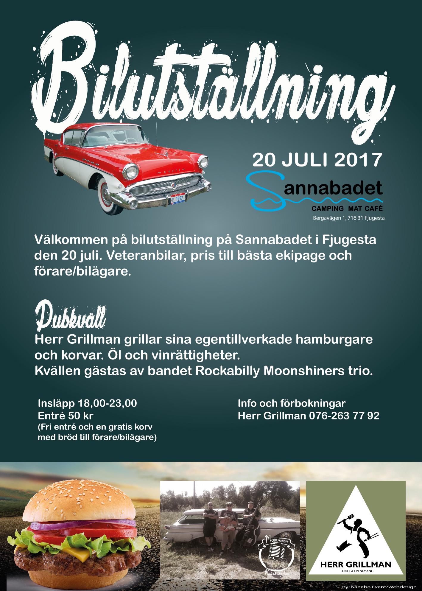 Affisch biluställning
