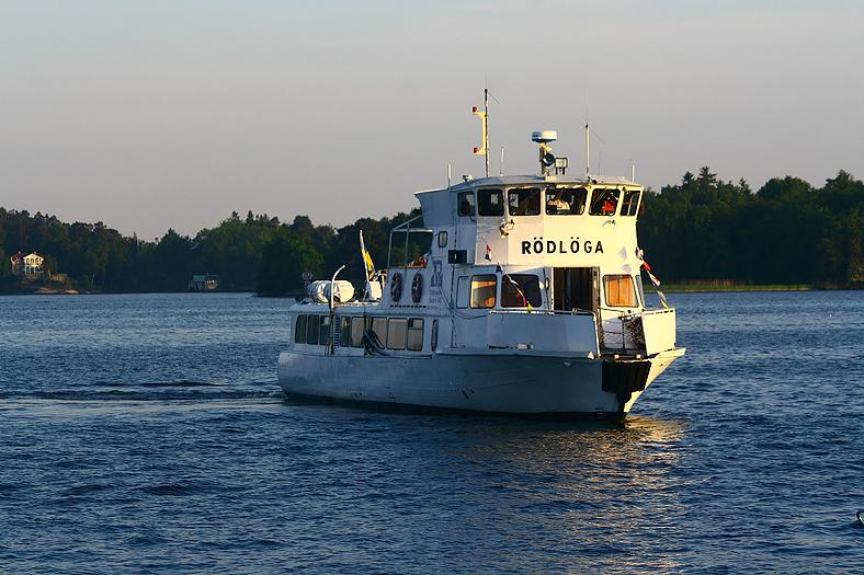 Fest på båt