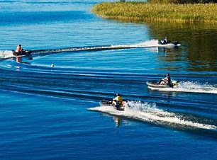 Gokart på sjön - Båtracing i gokartbåt.j
