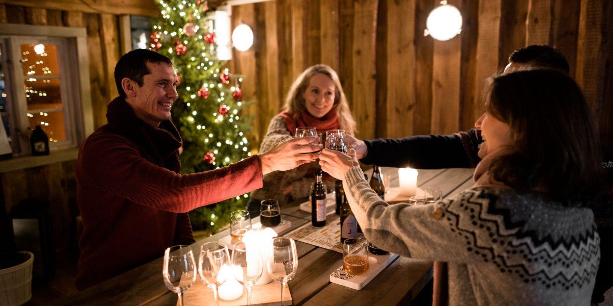 Jul på TanumStrand (Grebbestad)