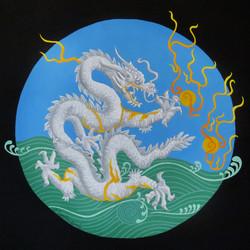 Imperial White Dragon