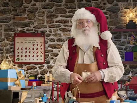 Message spécial du père Noël