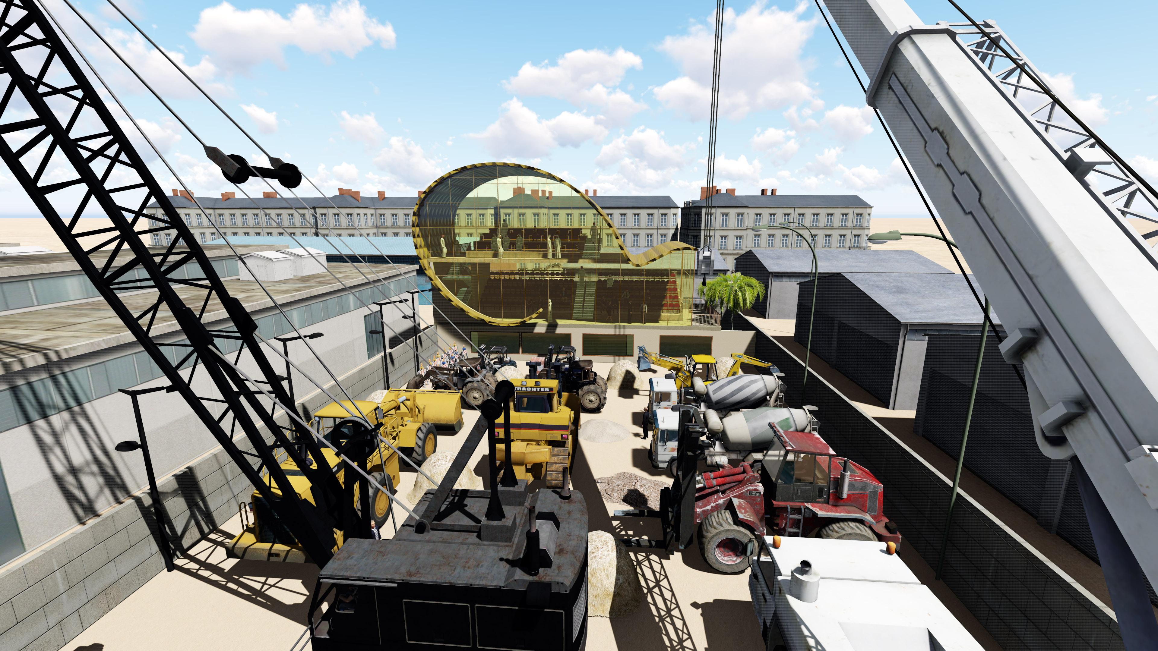 industrial warehouses / Showroom