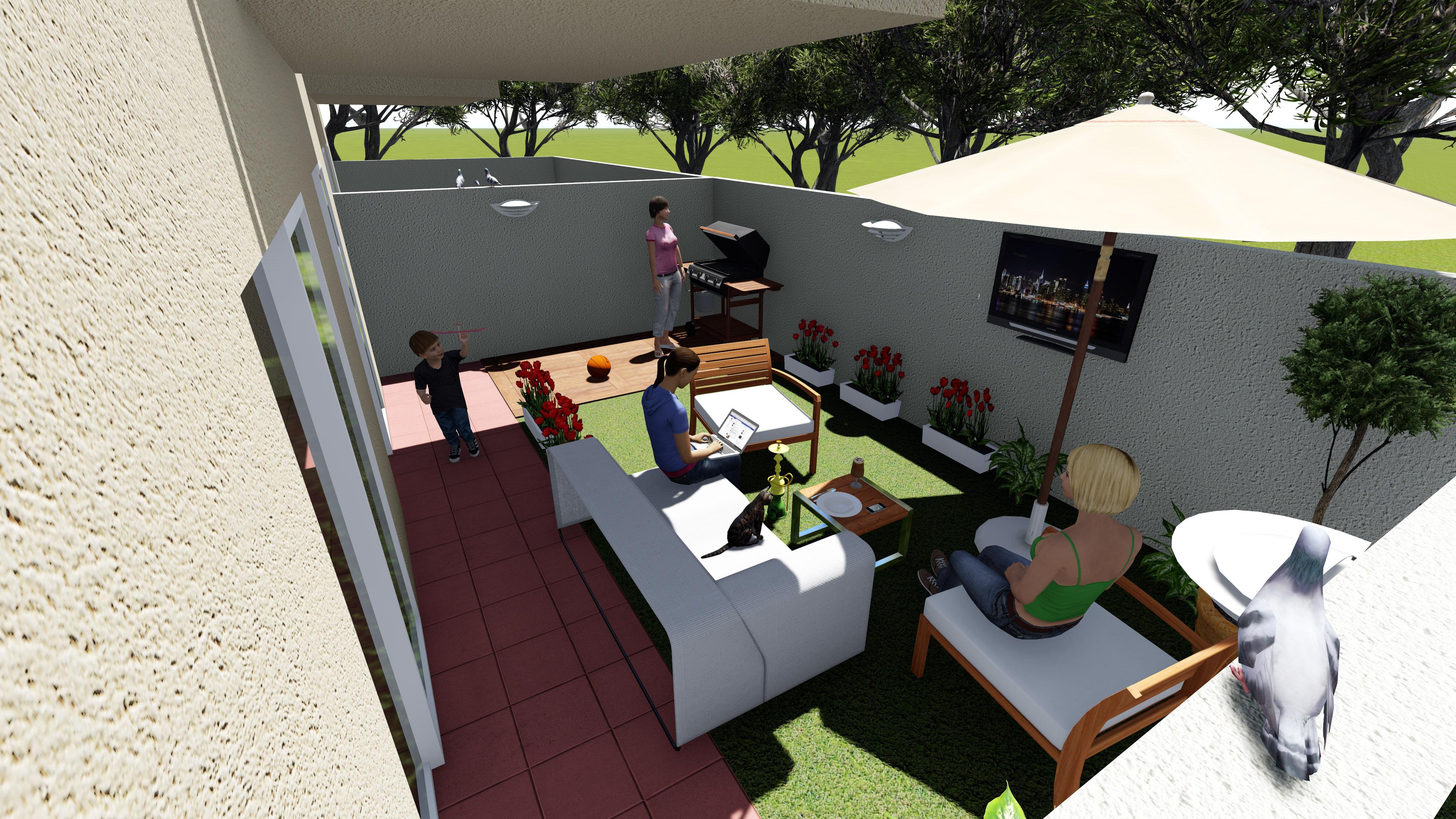 Backyard 3d