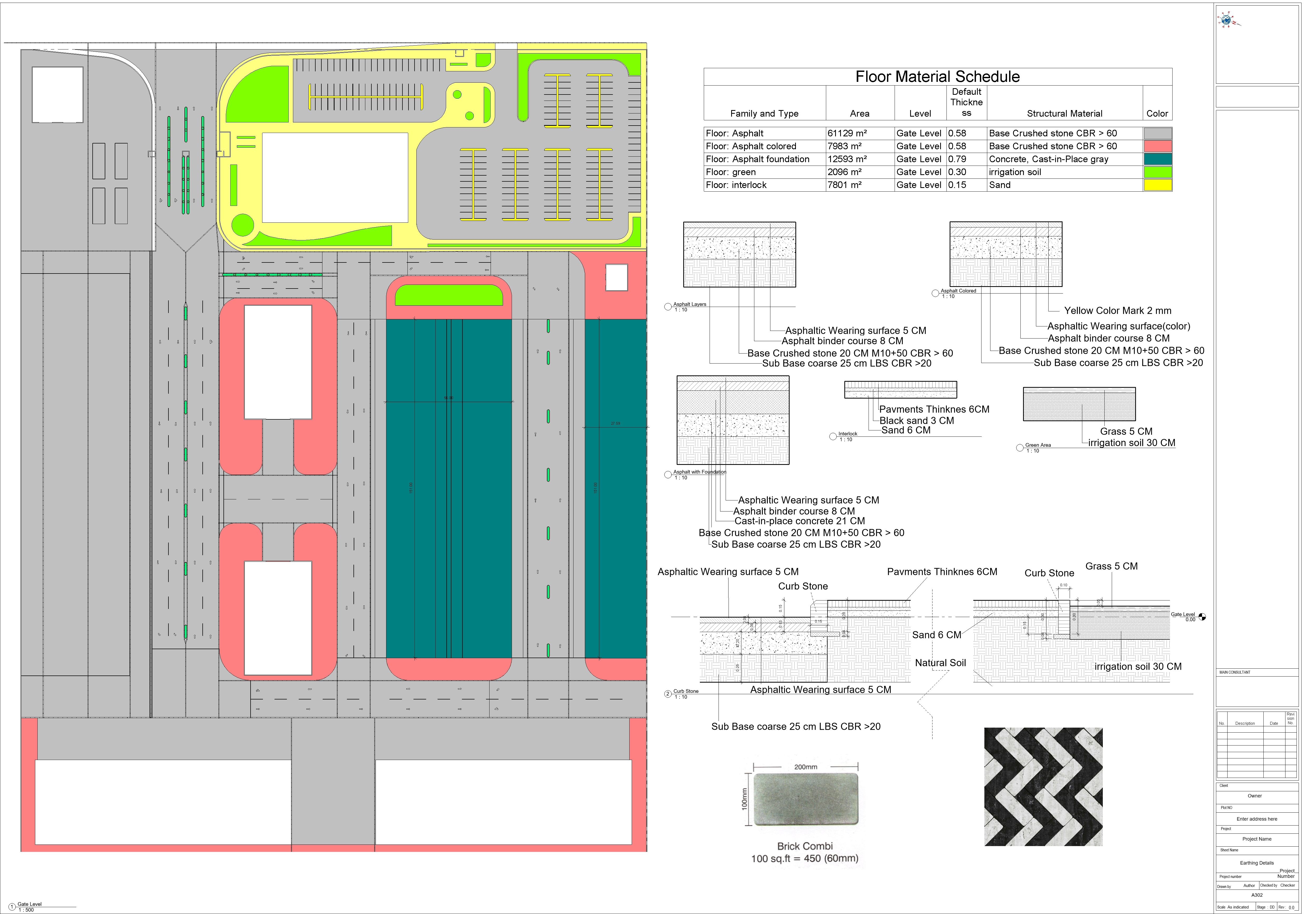 kazakhestan - Sheet - A302 - Earthing Details