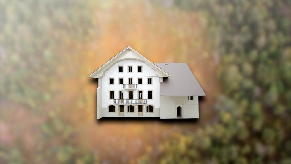 Maquette Maison de la Tourbière