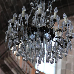 Chandelier Cathedral at San Miguel Di Allende