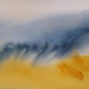 Stormy Skies Watercolor