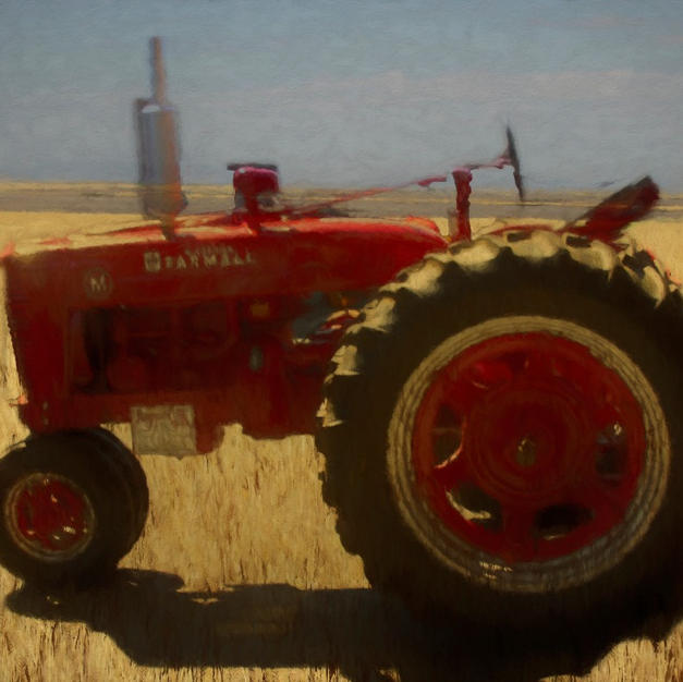 Little Red Farmall Tractor