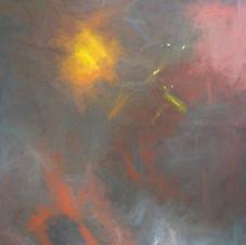 Dash of Yellow Abstract