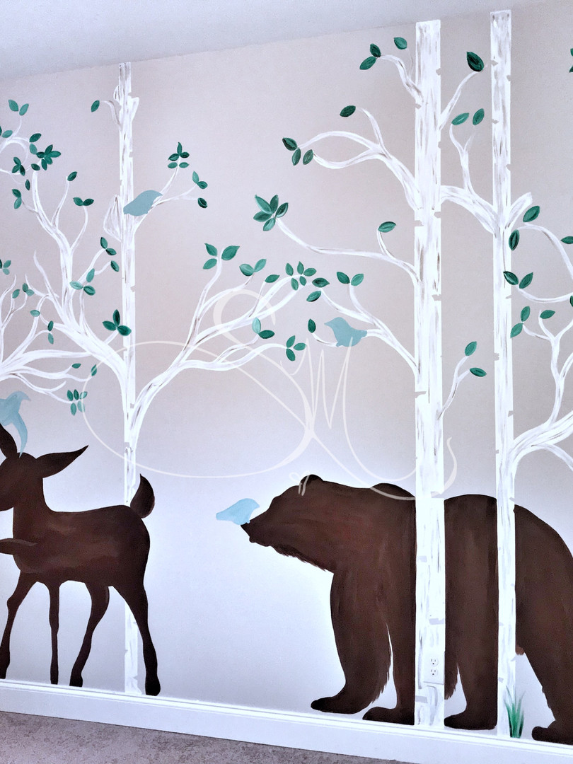 Baby Boy Nursery- Forest