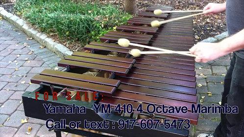 Yamaha YM 410 Honduran Rosewood 4-Octave Marimba