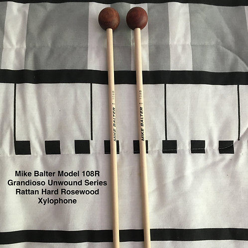 Mike Balter 108B Rosewood Birch Hard Xylophone Mallets
