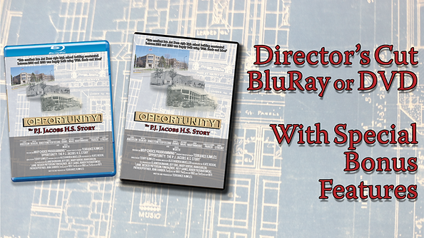 BluRay & DVD copies of Director's Cut with Special Bonus Features.