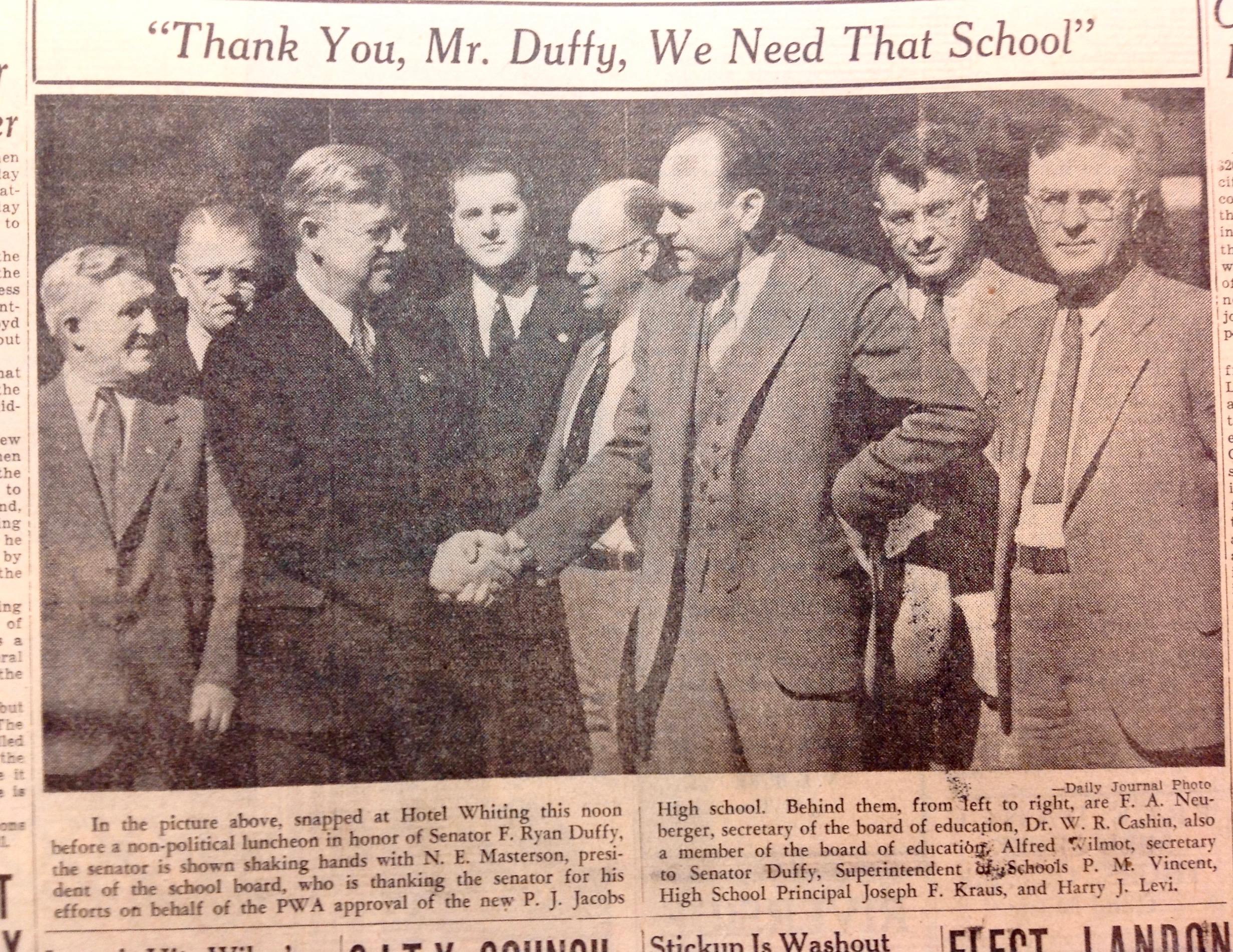 Senator Duffy