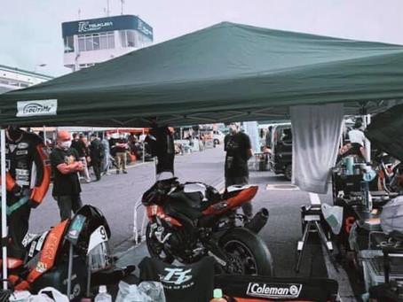 6月5日 筑波サーキットで行われた筑波ロードレース選手権に出場しました。
