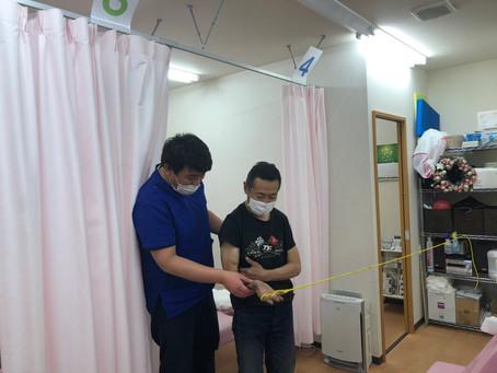 にじいろ鍼灸接骨院でリハビリしてます!