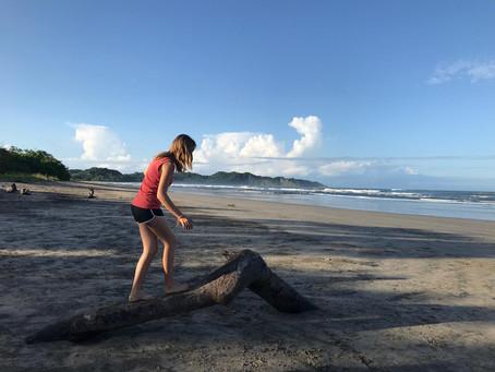 Yoga Travels in Nosara, Costa Rica.