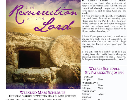 Sunday April 4th, 2021 - Easter Sunday