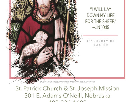 Sunday April 25th, 2021 - 4th Sunday of Easter