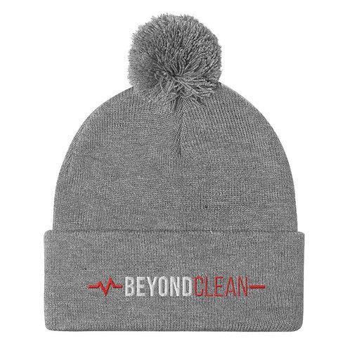 Beyond Clean Pom-Pom Beanie