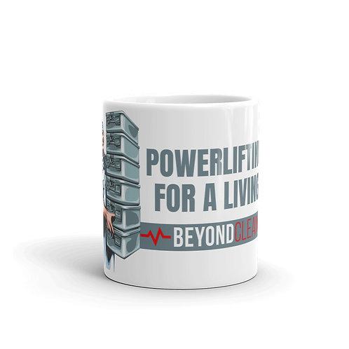Powerlifting for a Living Mug